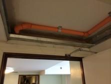 pipework internal hallway