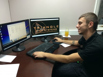triangle fire systems own grown