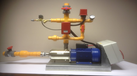 Fire Pump Sets & System Valve Groups
