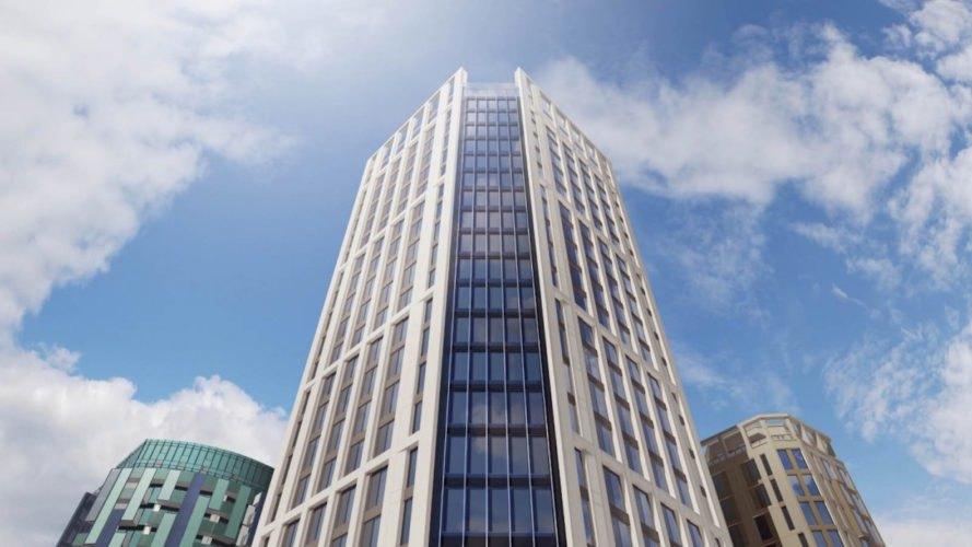 Europe's tallest modular tower